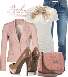 """""""It's An Attitude"""" by garbowvu on Polyvore"""