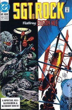 Dc Comic Books, Comic Book Covers, Comic Book Heroes, D Day Normandy, Joe Kubert, War Comics, Adventure Movies, Classic Comics, American Comics