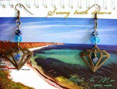 Petale de Mac Mac, Pendant Necklace, Handmade, Jewelry, Atelier, Jewellery Making, Hand Made, Jewels, Jewlery