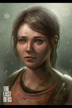Ellie from The Last of Us.