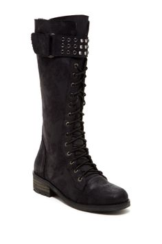 Rebels Lilith Tall Lace-Up Boot