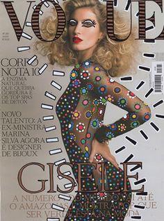 "Gisele Bündchen, Ana Strumpf Re-Cover ""Vogue Magazine"""