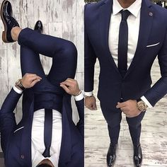 Pinned For Picture Mens Fashion Suits, Mens Suits, Terno Slim, Look Man, Designer Suits For Men, Suit And Tie, Gentleman Style, Men Formal, Mens Clothing Styles