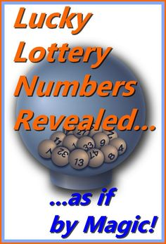 CLICK FOR YOUR LUCKY NUMBERS http://www.alizons-psychic-secrets.com/lucky-numbers.html As a Psychic & White Witch I can help you create good luck by deriving lucky numbers for you. Find your lottery numbers with the power of Magic. Magic that works with the Law of Attraction can bring amazing results, attract money, wealth & abundance. Discover how Lucky Numbers for lottery wins can change your bad luck to good luck and allow you to change your destiny.