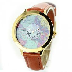 Finally! I found the Creative Funny Plane Around World Map Watch from ByGoods.com. I like it so so much!