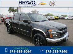 2008 Chevrolet Chevy Colorado LT w/1LT 102k miles Black Call for Price 102601 miles 575-888-3069 Transmission: Automatic  #Chevrolet #Colorado #used #cars #BravoChevroletCadillac #LasCruces #NM #tapcars