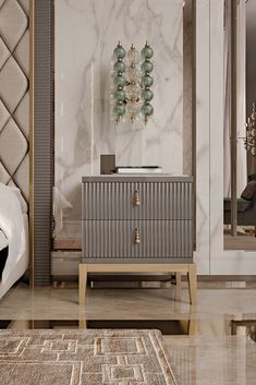 Art Deco Bedroom Furniture Luxury Italian Art Deco Inspired Designer Lacquered Bedside In 2020 Home Decor Bedroom, Contemporary Interior Design, Luxury Furniture, Luxury Bedside Table, Luxury Bedroom Furniture, Art Deco Bedroom Furniture, Bedroom Design, Side Tables Bedroom, Classic Bedroom