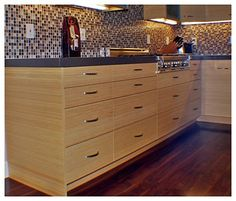 Contemporary Bamboo kitchen contemporary kitchen