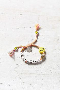 Venessa Arizaga Dont Worry Bee Happy Bracelet