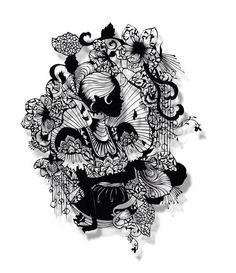 Hina Aoyama - paper cut art