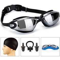 [$7.99 save 72%] #LightningDeal 90% claimed: GAOGE Swimming Goggles  Swim Cap  Case  Nose Clip  Ear PlugsSw... #LavaHot http://www.lavahotdeals.com/us/cheap/lightningdeal-90-claimed-gaoge-swimming-goggles-swim-cap/201326?utm_source=pinterest&utm_medium=rss&utm_campaign=at_lavahotdealsus