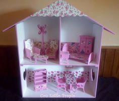 Casitas de muñecas para las princesas de la casa .