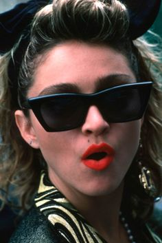 Madonna, but only sometimes.  Desperately Seeking Susan.  The Vogue video.  The mid 90's, pre-Veronica Electronica.