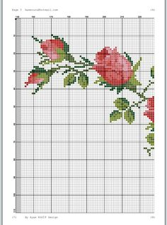 1 million+ Stunning Free Images to Use Anywhere Cross Stitch Rose, Cross Stitch Borders, Cross Stitch Flowers, Cross Stitch Designs, Cross Stitching, Cross Stitch Patterns, Tambour Embroidery, Hardanger Embroidery, Cross Stitch Embroidery