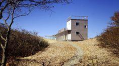 Steven Holl ~ Berkowitz-Odgis House ~ Martha's Vineyard, Massachusetts ~ 1986-1988