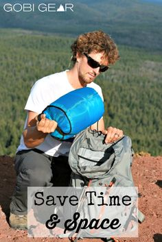 Save time and space with the SegSac. It's 4 compartments and compression straps keeps your gear organized and compacted in your pack.