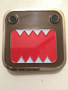 Domo NHK Domo-kun  Anime Belt Buckle 1998-Licensed Authentic Domo #Domo #Novelty