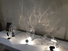 Water effect lamp (glass)