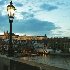 Even if it is rainy and cloudy, Prague is so charming!