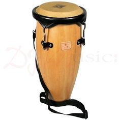 """LP World Beat 9"""" Caribe Conga Drum - Perfect drum for young players just starting out or for more experienced players looking for a drum small enough to strap over the shoulder."""
