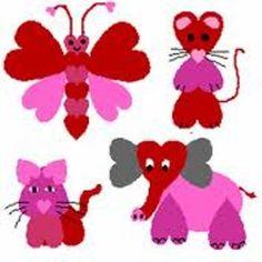 valentine crafts for children - Google Search