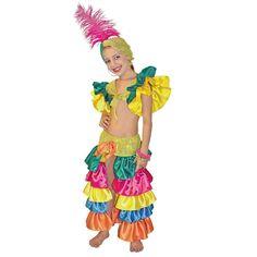 Disfraz de Rumbera Brasilera niña BsF 1600.0 - korda Modas