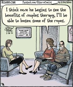 "Dan Piraro's ""Bizarro"" is an eccentric and bizarre look at everyday life through the cartoonist's eyes. Funny Cartoon Pictures, Cartoon Jokes, Funny Cartoons, Funny Jokes, Hilarious, Memes Humor, Cartoon Ideas, Cartoon Fun, Sarcastic Humor"