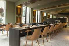 Commercial Interior Design, Commercial Interiors, Sushi, Sora, Zurich, Conference Room, Table, Furniture, Home Decor