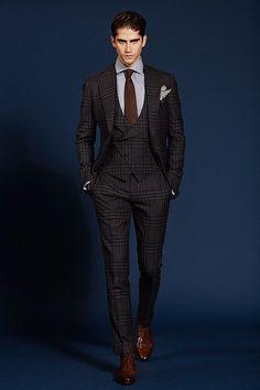 48 amazing winter suits for gentleman style men fashion fato Dapper Gentleman, Gentleman Style, Dapper Dan, Mens Fashion Suits, Mens Suits, Men's Fashion, Suit Men, Winter Fashion, Fashion Trends