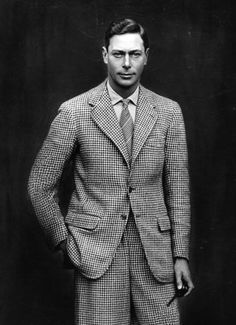 Prince Albert, later King George VI, 1924. The King's Speech king.