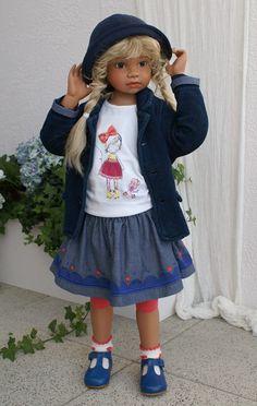 Edilene..new doll by Angela Sutter