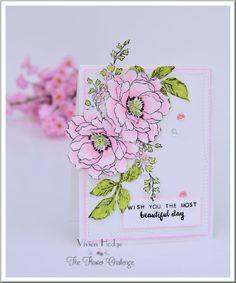 Flower Challenge card