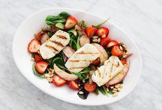 food, healthy, and salad afbeelding