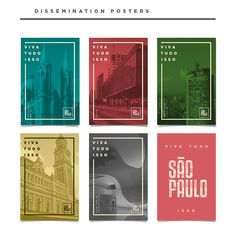 """São Paulo, knowning by Brazilians as """"the concrete jungle"""" is a vast gray landscape with skyscrapers, diversity in culture, leisure and ethnicities.This city branding proposition try to represent their multiracial lines, mixing the modern with the class… Poster Layout, Poster S, Graphic Design Print, Graphic Design Typography, Brochure Layout, Brochure Design, Book Design, Layout Design, Banner Design Inspiration"""