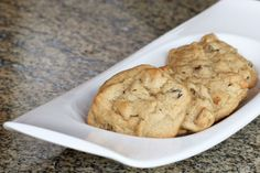 Old-Fashioned Hermit Cookies With Raisins and Chopped Nuts