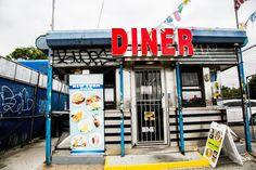 New York Diner. Long Island City, Queens.