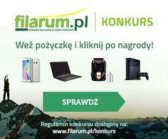 Konkurs z nagrodami w filarum i darmowa pożyczka na 1000 zł