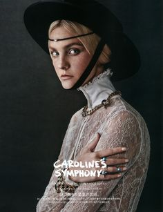 Vogue Japan enlists top model Caroline Trentini for their October cover story captured by fashion photographer Giampaolo Sgura with styling from Anna Dello Russo. Vogue Japan, Vogue Korea, Fashion Shoot, Editorial Fashion, Fashion Art, Fashion History, Beauty Editorial, Ladies Fashion, Fashion Photography Inspiration