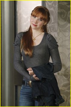 Molly Quinn reminds me of the red-haired mortal Jack-be-Nimble follows