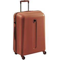 Beautiful gingerbread #Helium suitcase from #DELSEY