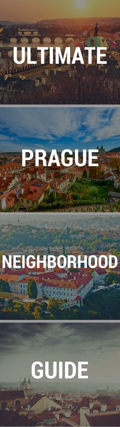 Prague neighborhood guide -- the ultimate guide to the best areas to stay in Prague
