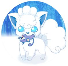 Alolan Vulpix by shamserg on DeviantArt Cute Pikachu, Cute Pokemon, Manga Pokémon, Powerful Pokemon, Alolan Vulpix, Monster Hunt, Watch Wallpaper, Pokemon Images, Pokemon Sun