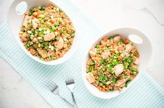 Chicken Fried Rice - use pork instead. No oyster sauce