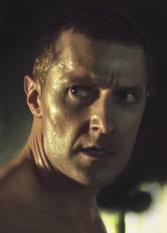 If all dragons looked like this, there would be breeding farms...Richard Armitage as Francis Dolarhyde in Hannibal.