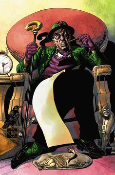 The Joker's Asylum: The Riddler