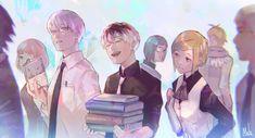 Anime art Tokyo ghoul Re arima haise akira Tokyo Ghoul Fan Art, Ken Kaneki Tokyo Ghoul, All Anime, Anime Art, Chibi, Wildest Fantasy, Pierrot, Tsukiyama, Zulu