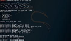 AQUATONE - A Tool for Domain Flyovers