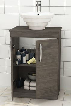 Smooth soft close Drawers and chrome handle with Space saving designs lies in this range of vanity units. Check thoroughly! ............................................................................................................................................#VanityUnit #BathroomDesign #FloorStandingCountertopUnit