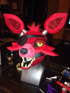 FNAF Foxy Mask by lonly-chibi-dragon on DeviantArt