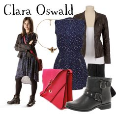 """Clara Oswald (Doctor Who)"" by companionclothes on Polyvore"